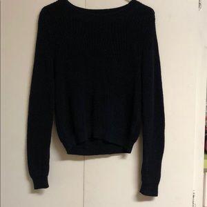 H & M Navy Blue Sweater